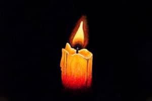 Svíčka k adventním tipům